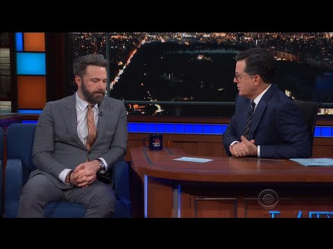 Thumbnail: Ben Affleck Squirms as Stephen Colbert Grills Him on Sexual Misconduct