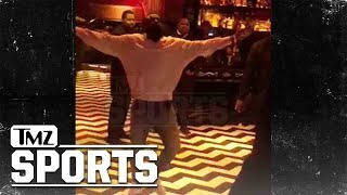 James Harden Dances With Himself To Chris Brown | TMZ Sports