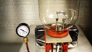 Опыт Ракетное Топливо в Вакууме Эксперимент Плоская Земля Спички в Вакууме