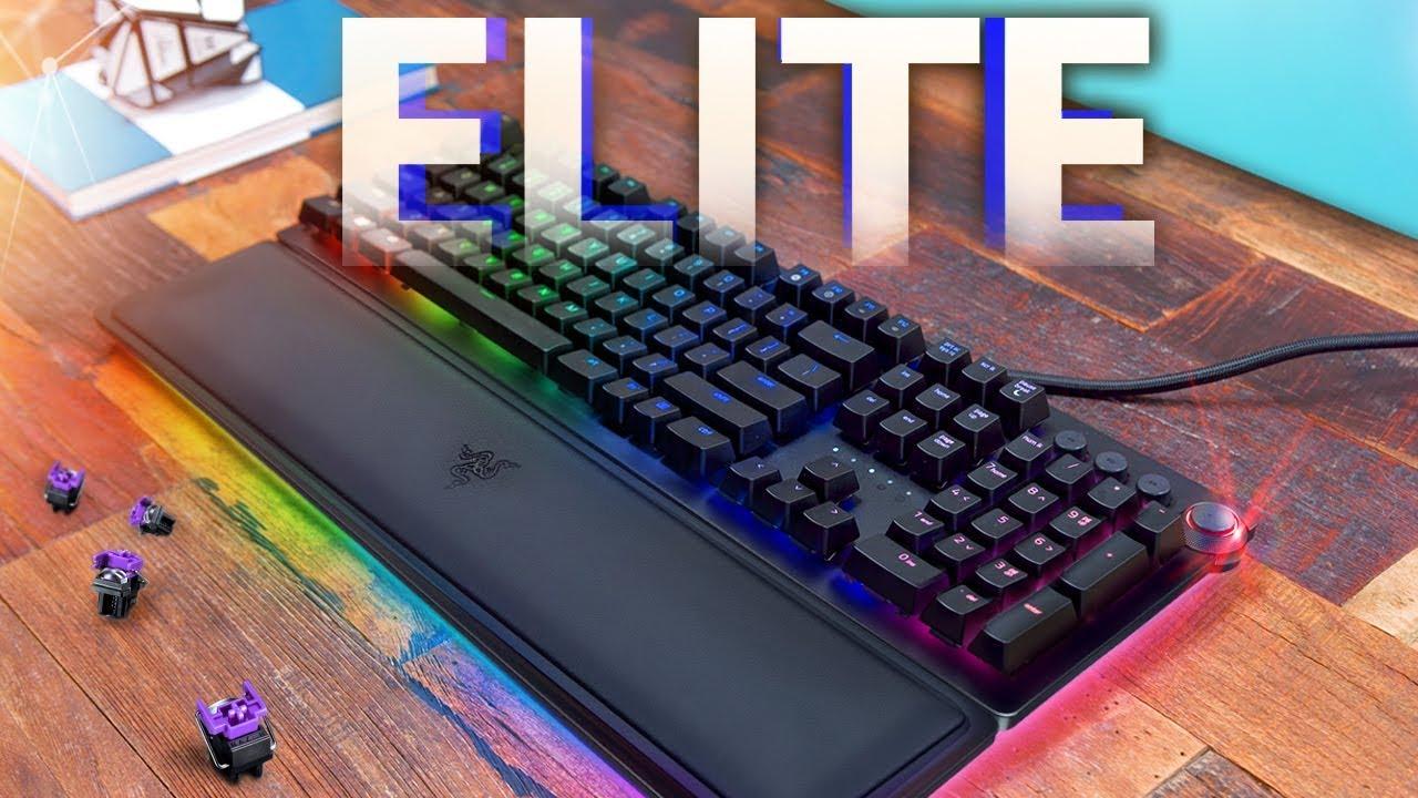 Razer Huntsman Elite Gaming Keyboard Review! - YouTube aebce7d05642e