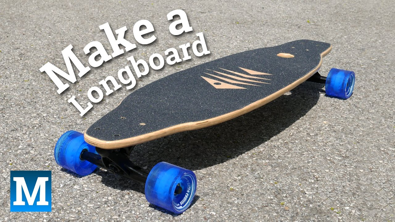 How to make a longboard skateboard youtube for Longboard template maker