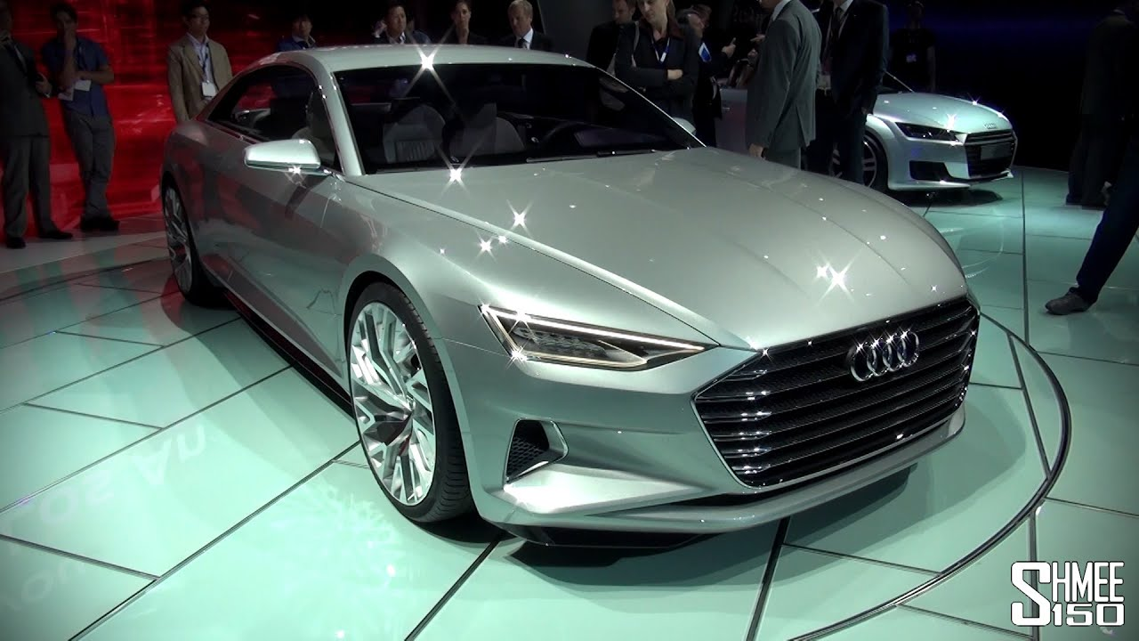 FIRST LOOK Audi Prologue A9 Concept LA Auto Show 2014