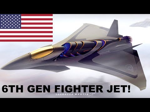 🔴 BREAKING: USA Developing 6th Generation Fighter Replaces F-22 Raptor & F-35 Joint Strike Fighter