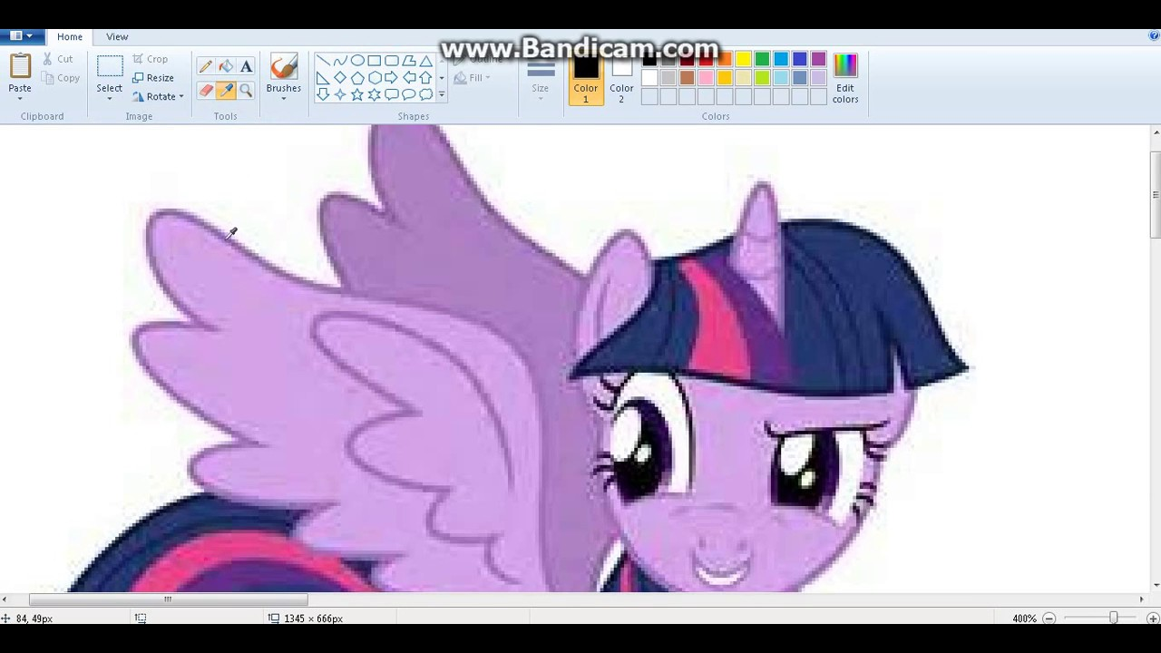 My Little Pony Menggambar Twilight Sparkle Youtube