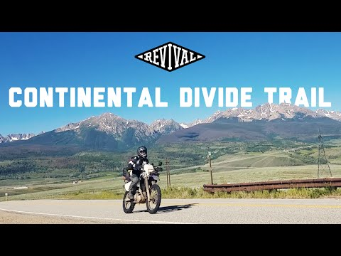 Continental Divide Trail on a Suzuki DRZ400S