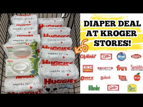 RUUNN 🏃🏼♀️ HUGGIES GOOD STOCK UP PRICE!! EXTREMELY EASY KROGER DIAPER DEAL *ENDS 1/12