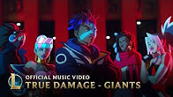 True Damage - GIANTS (ft. Becky G, Keke Palmer, SOYEON, DUCKWRTH, Thutmose) | League of Legends