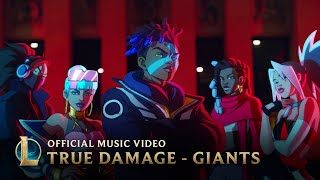 True Damage - GIANTS при участии Becky G, Кеке Палмер, SOYEON, DUCKWRTH, Thutmose League of Legends