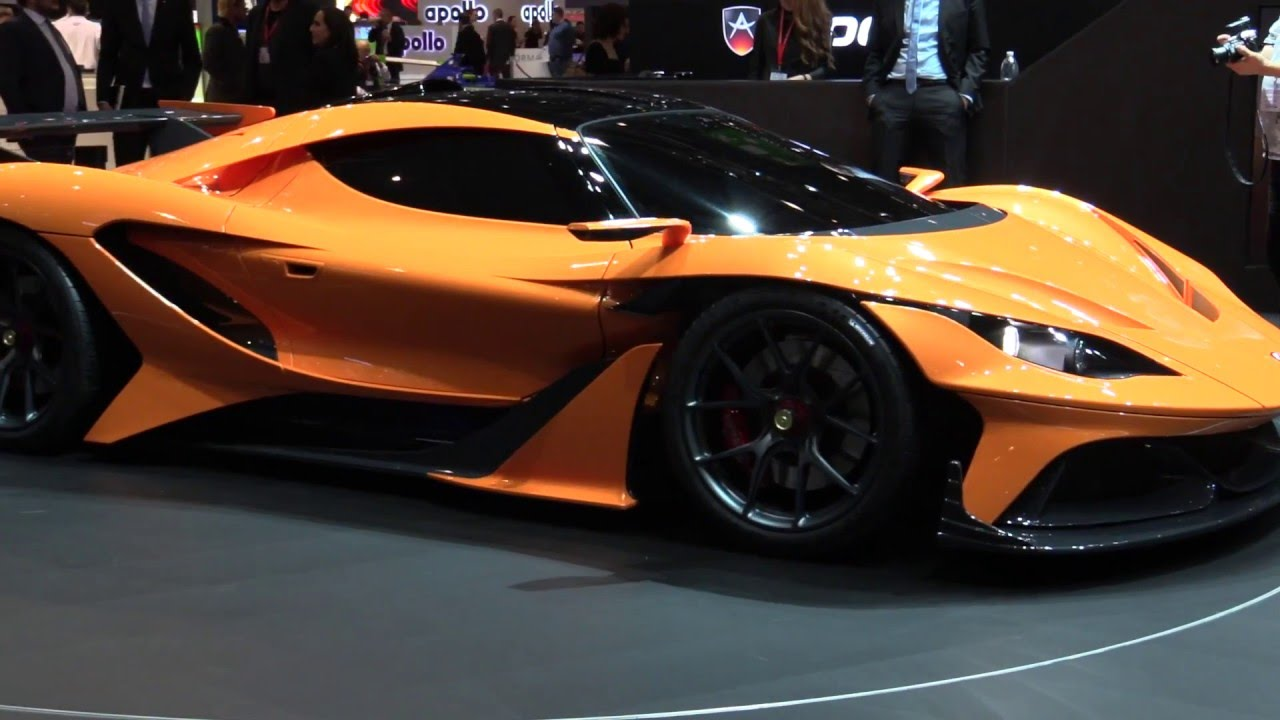 The Apollo Arrow From Gumpert At 2016 Geneva Motor Show Automototv You