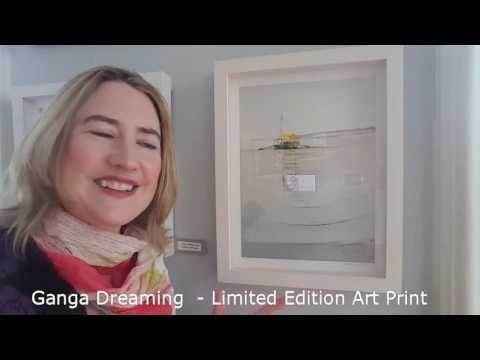 Ganga Dreaming- Limited Edition Art Print