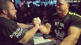 ARM WRESTLING WITH MARCIO BARBOZA