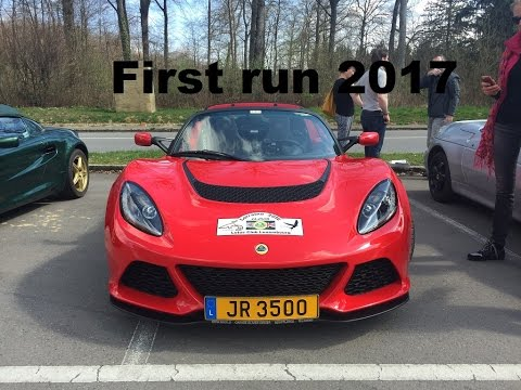 First Run 2017 - Lotus Club Luxembourg