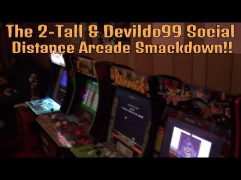 The Arcade 1up Social Distance Arcade Smackdown!! from DevilDo99 Gaming