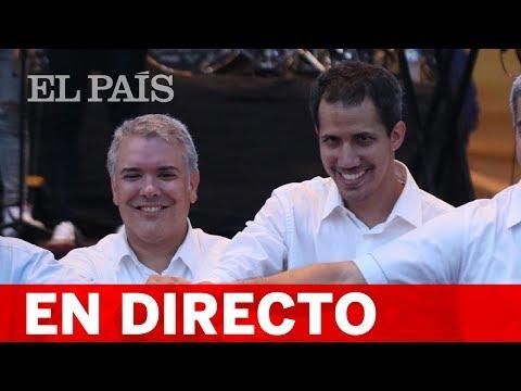 DIRECTO VENEZUELA | GUAIDÓ Y DUQUE dan inicio a la entrega de ayuda humanitaria