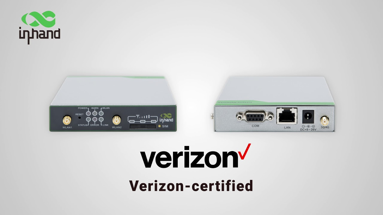 InRouter611 - Verizon Certified IoT Router for LTE Migration