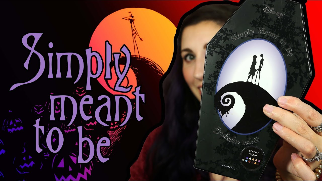 Nightmare Before Christmas Makeup Palette   Simply Meant To Be   Hot ...