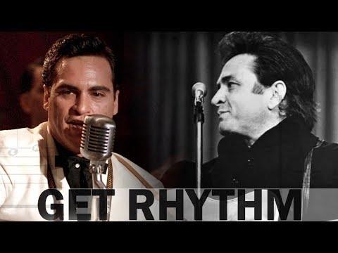 Joaquin Phoenix Vs. Johnny Cash Comparison ◾️ Get Rhythm MOVIE CLIP Walk The Line
