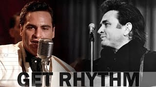 Joaquin Phoenix Vs. Johnny Cash Comparison ◾️ Get Rhythm MOVIE CLIP Walk The Line