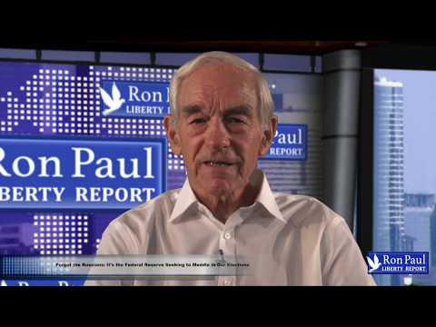 Ron Paul: Forget The Russians, The Federal Reserve Is Meddling In U.S. Elections