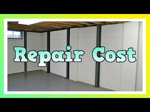 How Much Does It Cost To Fix A Basement Wall