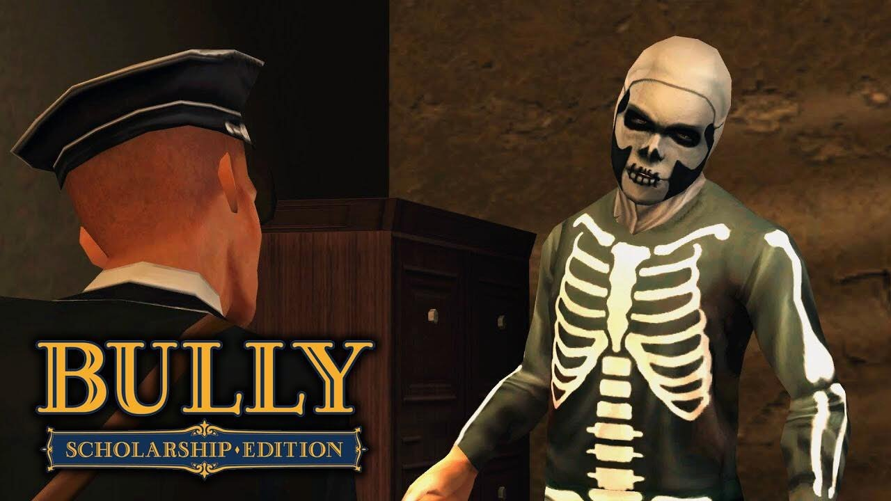 Bully: Scholarship Edition - Mission #10 - Halloween - YouTube