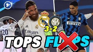 Real-Inter (3-2) : Ramos dans la légende, Vinicius-Rodrygo en héros, Hakimi déçoit | Tops et Flops