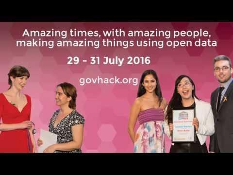GovHack 2016 Queensland & Brisbane Opening