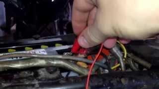 1966 Honda CB77 Restoration - 6. The starter works!