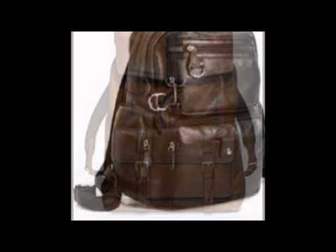 582b9d10649 Leather backpacks for men - YouTube