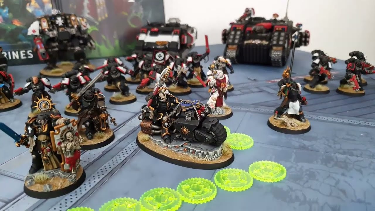 Black Templars v Tyranids, Warhammer 40k battle report