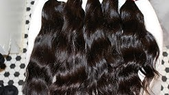 How to Pre-wash Your Virgin Hair Bundles