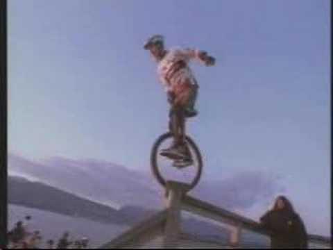 Kris Holm Extreme Unicyclist