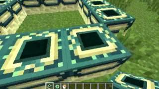 วิธีทำประตูมิติ minecraft 1.3.2