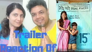 Mere Pyare Prime Minister | Official Trailer Reaction |March 15th|Foreigner VS Indian Reaction|