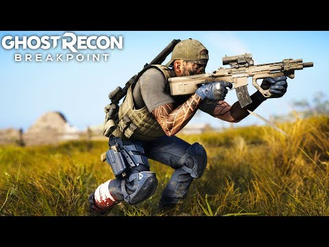 Ghost Recon Breakpoint 416 SHORTY PERFECT CLOSE QUARTERS! Ghost Recon Breakpoint Free Roam - Part 66