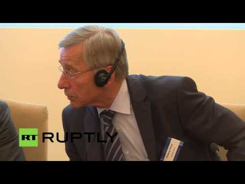 LIVE: Manturov speaks on Russian-German economic ties in Berlin