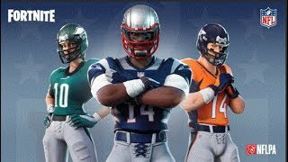 The New Football Skins Coming To Fortnite...