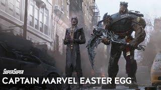 Unseen Captain Marvel Easter Egg in Avengers: Infinity War!
