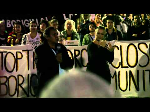 Stop The Forced Closure Of Aboriginal Communities -  Sydney 10th April 2015