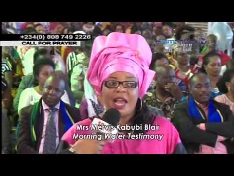 SCOAN Anointing Water Testimonies   Mrs Mervis K Blair, Bavo Tengion & Becky Obinyan