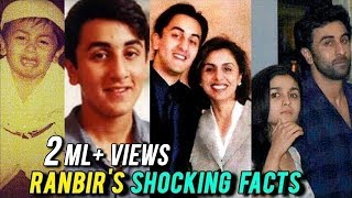 Ranbir Kapoor39s LIFE From DRUGS GIRLFRIENDS AND MORE  36 SHOCKING FACTS