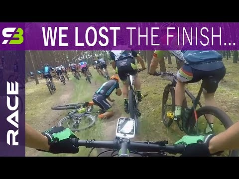 Full Race - 30 km MTB Marathon. Strong Legs And Missed Sprin