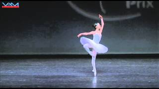Emily Kadow (SFB): La Bayadere Variation, YAGP 2008 (Age 14)
