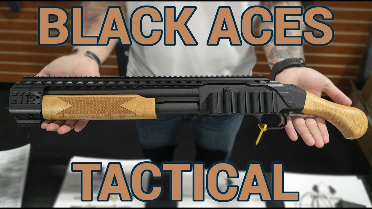 Black Aces Tactical Shockwave accessories at SHOT Show 2019
