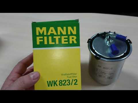 Топливный фильтр MANN-FILTER WK8232: Mann-filter.com.ua