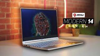 MSI Modern 14 Review 2019! - 10th Gen Intel Laptop!