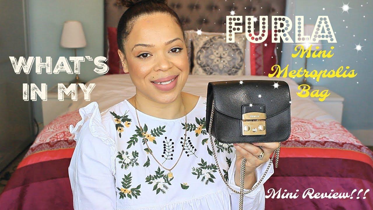 061375e84d79 What`s In my Furla Metropolis Mini Crossbody Bag   Mini Review - YouTube