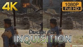 4K vs 1080p Graphics Comparison: Dragon Age Inquisition