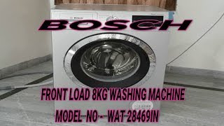 BOSCH FRONTLOAD 8KG 1400RPM WAT -28469IN REVIEW