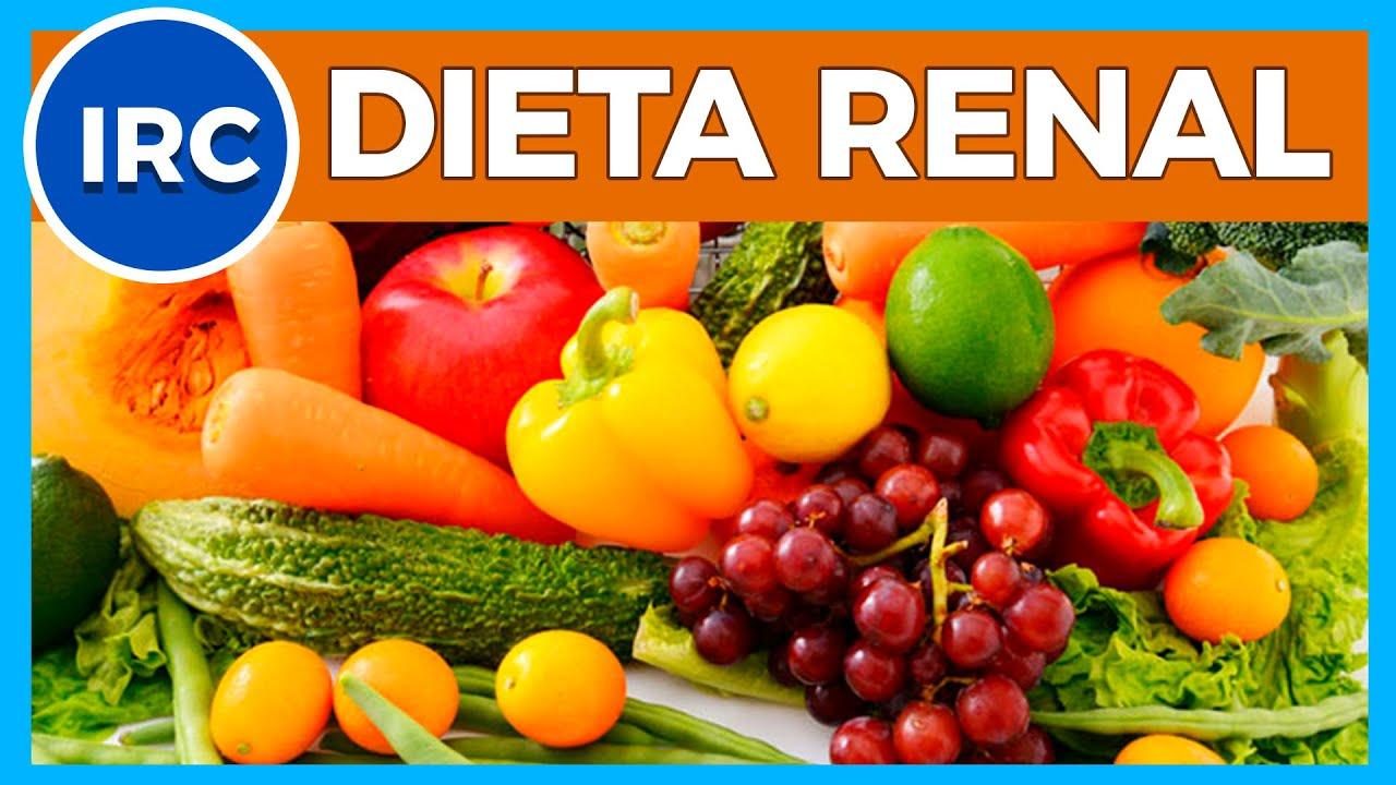 dieta para el riñon enfermo